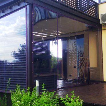Увеличение площади для приема гостей - Мягкие окна Винница