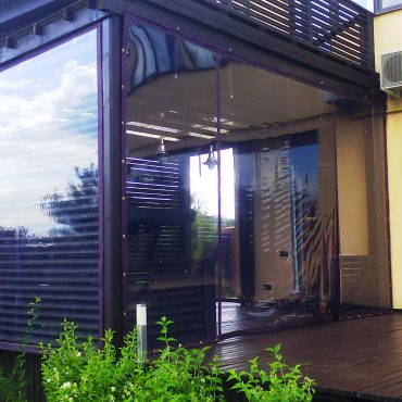 Збільшення площі для прийому гостей - М'які вікна Вінниця